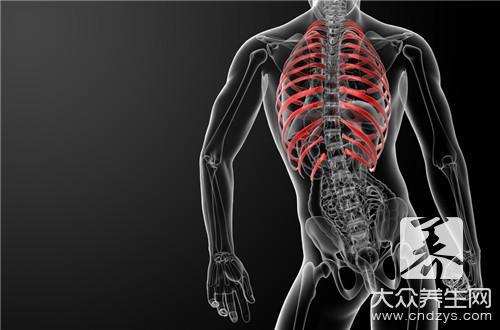 吸气时右侧肋骨下疼怎么回事图片