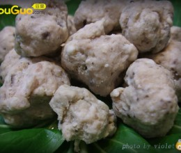 天冷吃火锅--自制香菇贡丸