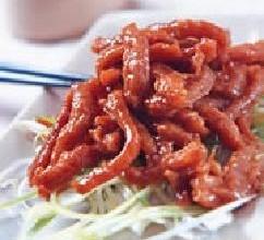京酱炒肉丝