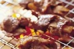 烤姜片猪肉卷