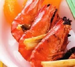 八角烤虾串