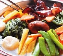 什锦蔬菜锅