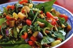 蚝油姜蒜炒杂蔬