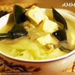 牡蛎豆腐白菜汤