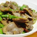 鸭肫炒青椒