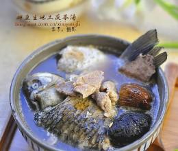 鲫鱼生地土茯苓汤