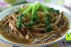 黄花菜炒冬瓜