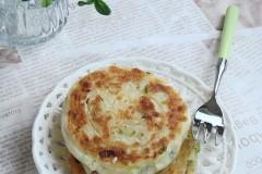 橄榄油葱饼