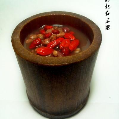 枸杞红豆燕麦粥(电炖锅)