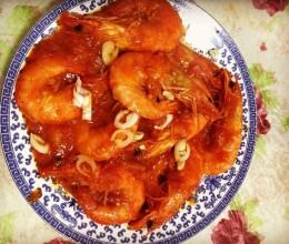 番茄大虾(靠大虾)