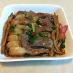 黄花菜蒸肉