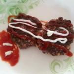鹿肉两吃:汆丸子、蒜香饼