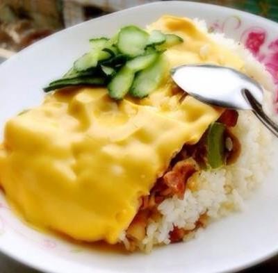 土鳖版芝士烟肉盒饭菜谱