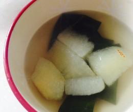 枇杷叶雪梨糖水