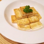 香煎老豆腐