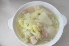 家常开水白菜