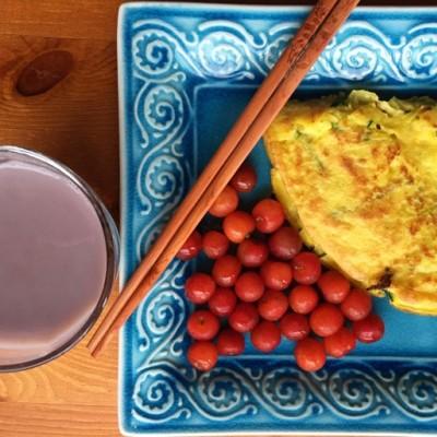 田七粉的功效与作用--三七粉蔬菜早餐饼