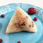 蔓越莓红枣粽子的做法和包法