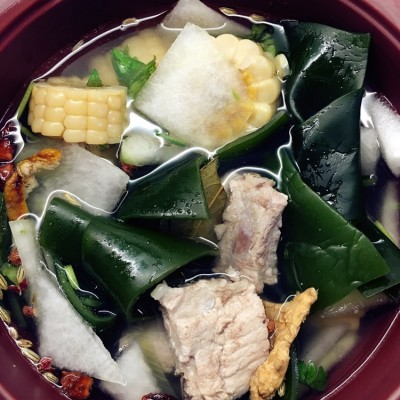 排骨冬瓜海带汤