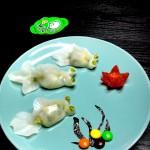 水晶金鱼蒸饺