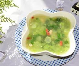 家常菜-青菜钵(青菜肉末汤)