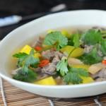 黄芪羊肉汤