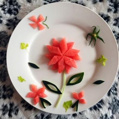 水果拼盘~花儿