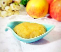 六个月宝宝辅食食谱-苹果泥