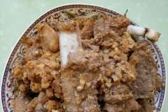 干豆角蒸排骨