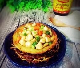 雀巢什锦鸡米#美极鲜味汁#