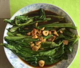 没有豆豉的豆豉油麦菜