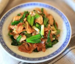 青葱炒腊肉