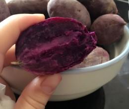 微波炉烤地瓜(紫薯)