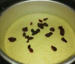 电蒸锅制作奶香巴旦木蛋糕