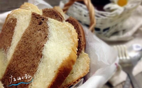 东菱面包机版双色炼奶吐司