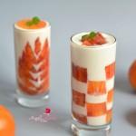 血橙酸奶杯#浪漫樱花季#