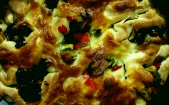 蜂窝披萨#浪漫樱花季#;