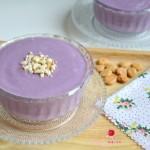 紫薯牛奶杏仁糊#浪漫樱花季#