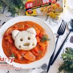 小熊番茄咖喱饭#咖喱萌太奇#