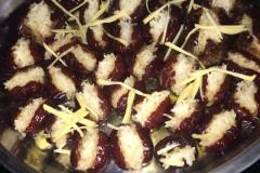 姜丝红枣酿糯米