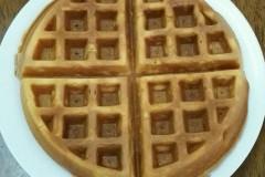 预拌粉做的华夫饼