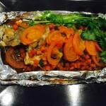 烤箱锡纸鲈鱼