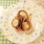 香蕉酥(平底锅版)-香蕉飞饼卷