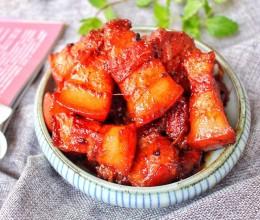红曲米焖红烧肉