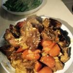 萝卜烧羊肉