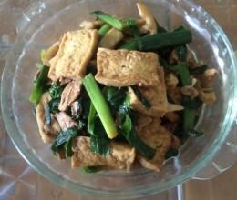 大蒜老豆腐