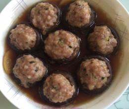 鲜香菇酿肉#鲜香味美