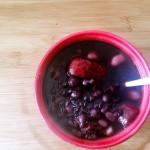 红豆黑米红枣粥