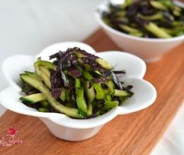 紫苏叶大拌菜