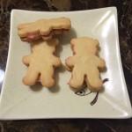 草莓小熊饼干